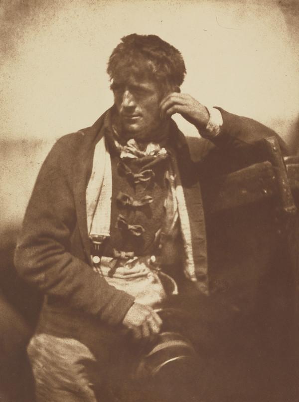 'A Newhaven Pilot' (1916 (original negative around 1845))