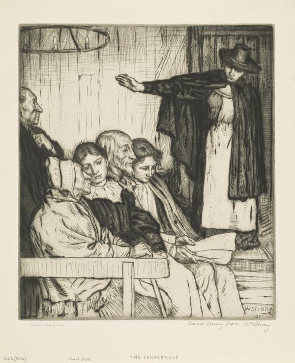 The Conventicle (Strang No. 263) (1893)