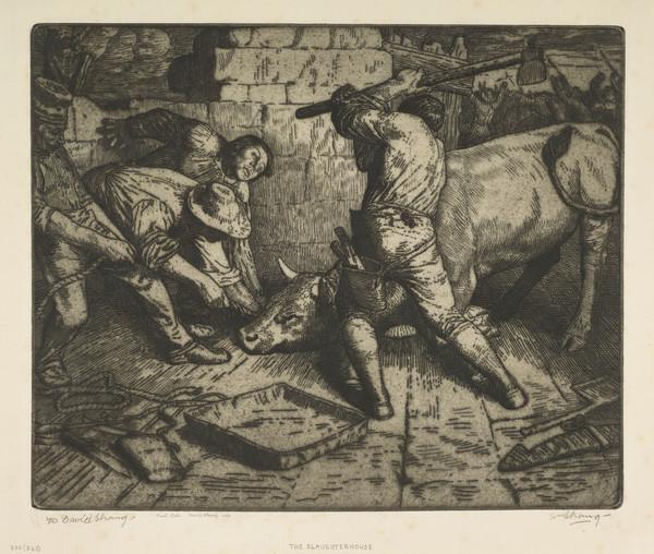 The Slaughterhouse (Strang No. 330) (1895)