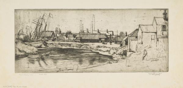 The River Bank, Stirling (Strang No. 455) (1899 (begun 1898))