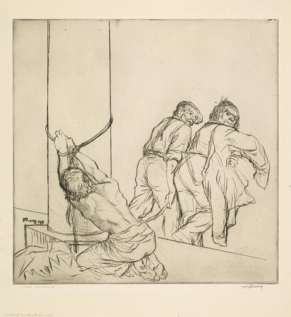 The Flagellation, No. 2 (Strang No. 662) (1912 (begun 1911))