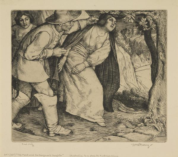 'The Monk and the Hangman's Daughter' (Strang No. 297) (1894)