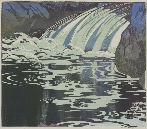 The Waterfall (About 1938)