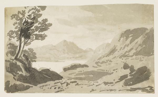 Highland Landscape with Loch