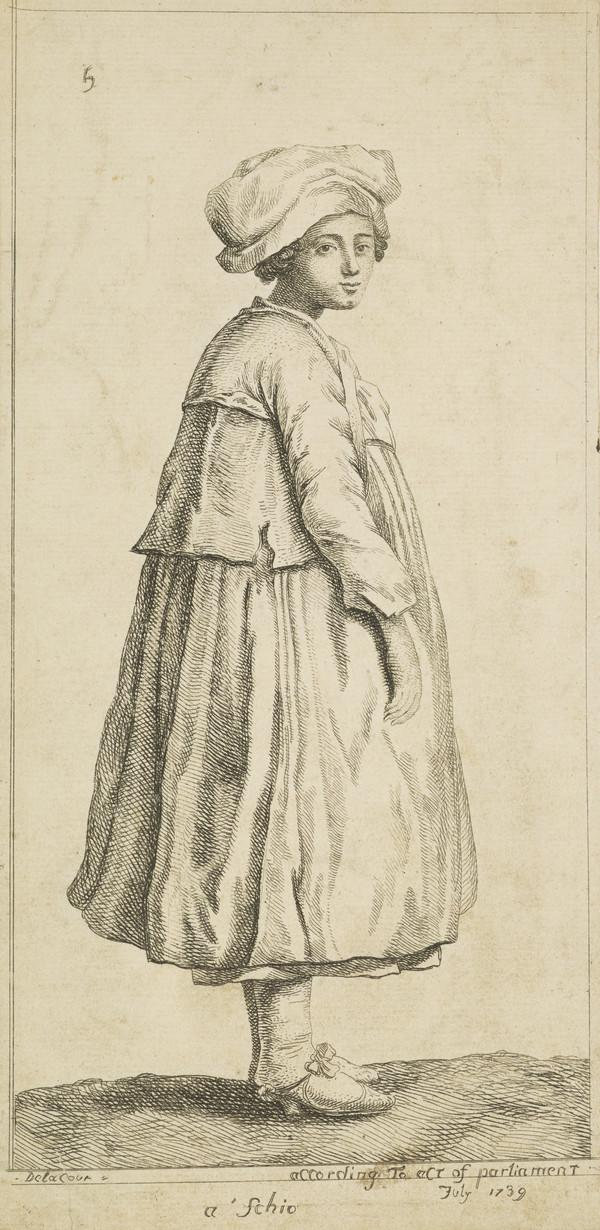 A Woman in Foreign Dress (1739)