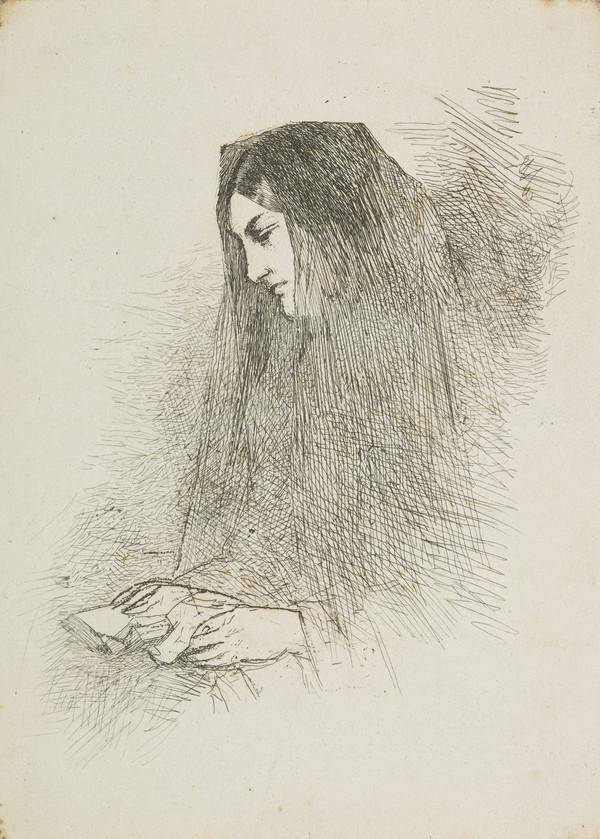 Woman with a Prayer Book