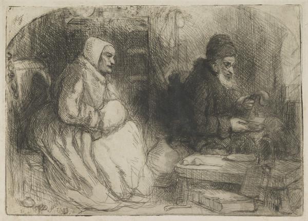 Paracelsus the Alchemist (Dated 1833)