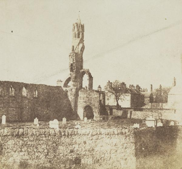 St Andrews Cathedral, West Front and South Aisle [St Andrews 71]