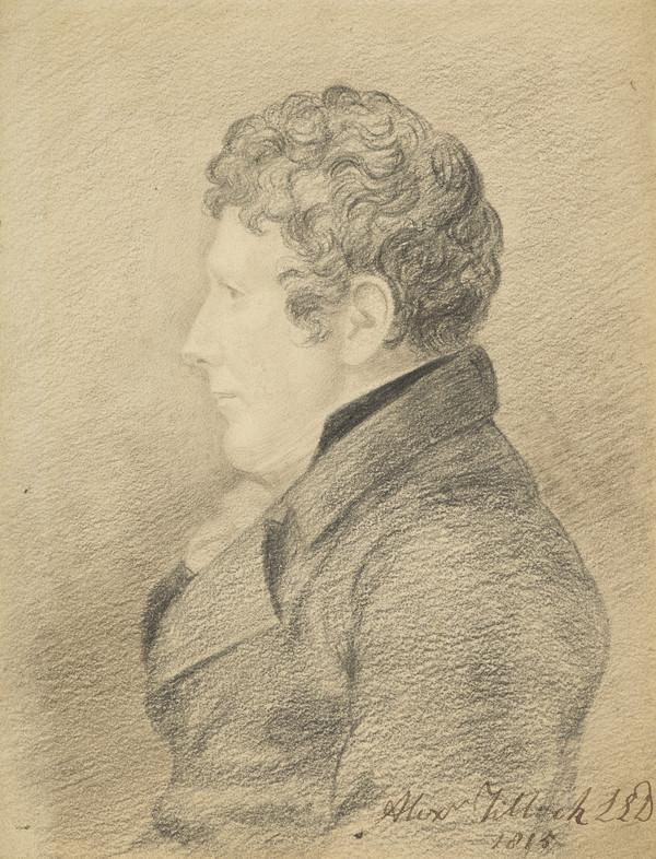 Alexander Tilloch, 1759 - 1825. Printer (Dated 1815)