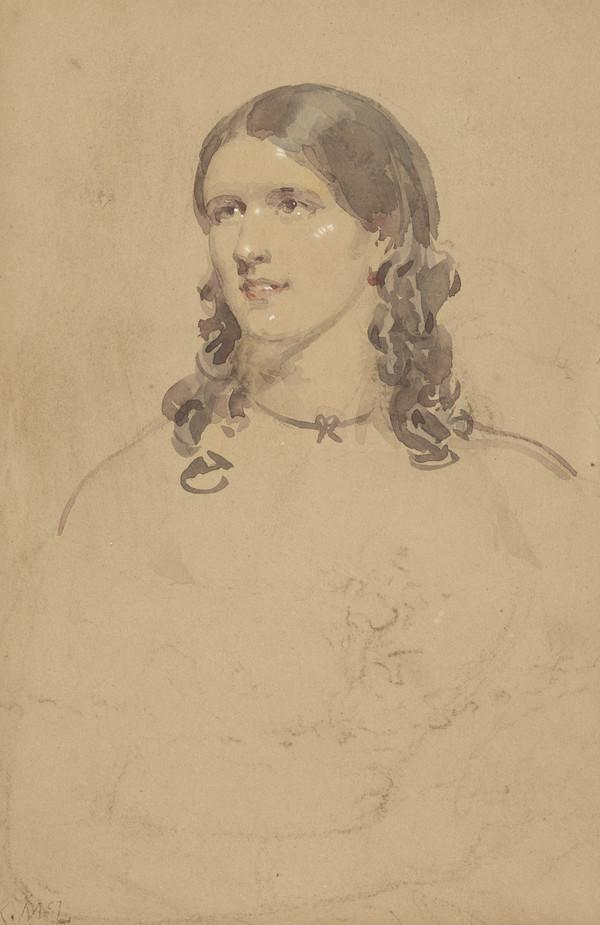 Helen Faucit, (subsequently Lady Martin), 1817 - 1898. Actress (Painted about 1844)