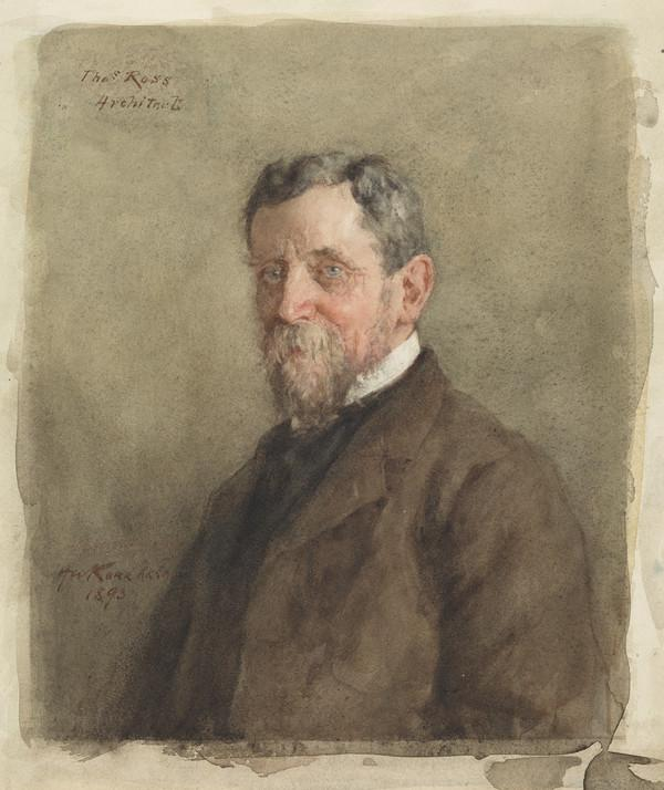 Thomas Ross, d. 1930. Architect and antiquarian