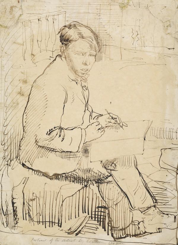 Sir William Orpen, 1878 - 1931. Artist (Self-portrait) (About 1895)