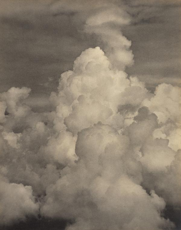 Clouds Massing Before a Thunderstorm, 6000 ft. There were Three Distinct Belts of Clouds. Photograph taken at 6000 ft. in the Middle. The Central... (About 1920)