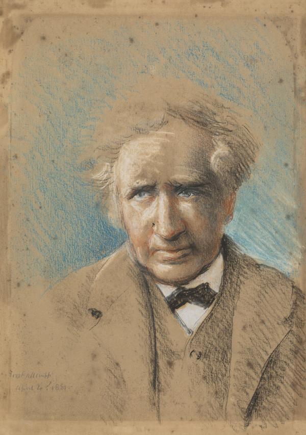 James Nasmyth, 1808 - 1890. Inventor of the steam hammer (Self-portrait) (1881)