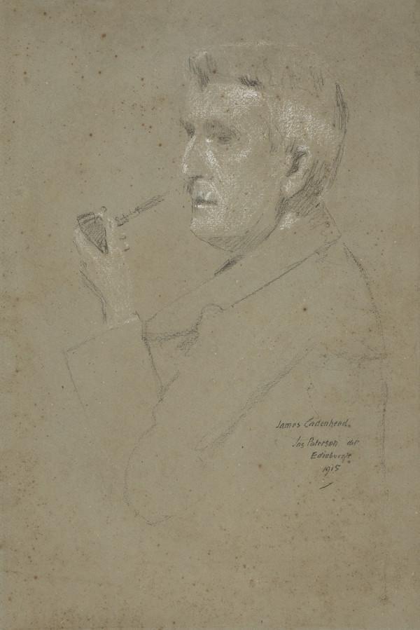 James Cadenhead, 1858 - 1927. Artist (1915)