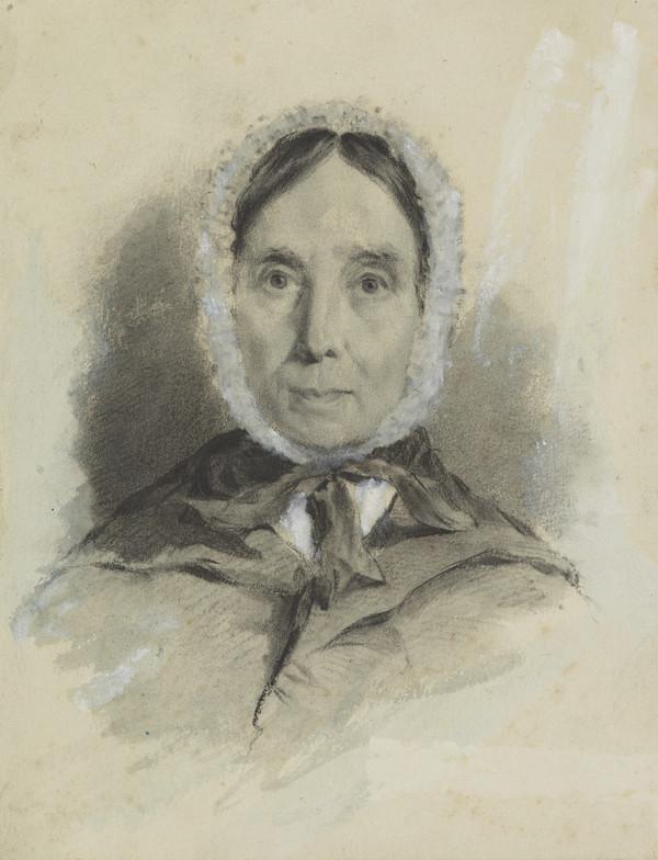 Isabella Burns, Mrs John Begg, 1771 - 1858. Youngest sister of Robert Burns
