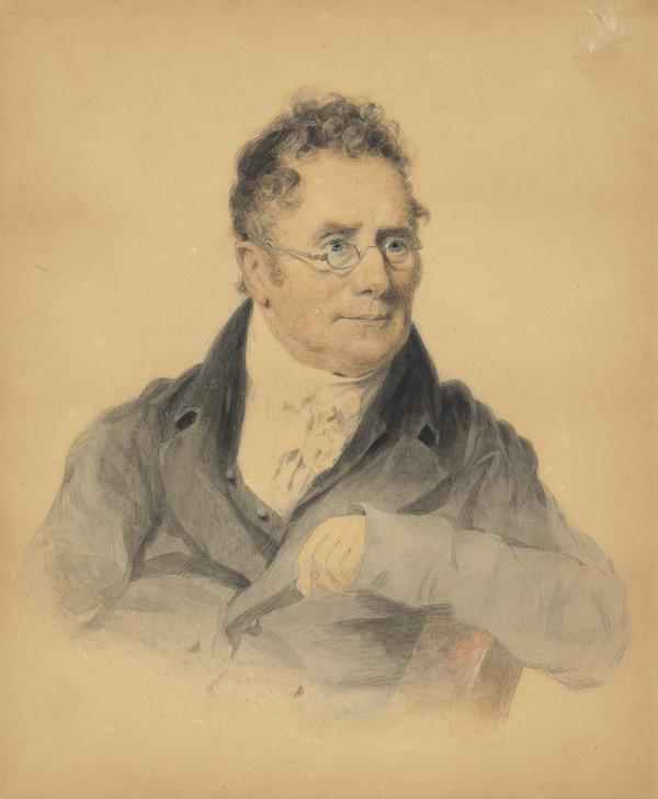 George Thomson, 1757 - 1851. Collector of Scottish songs (Painted about 1817)