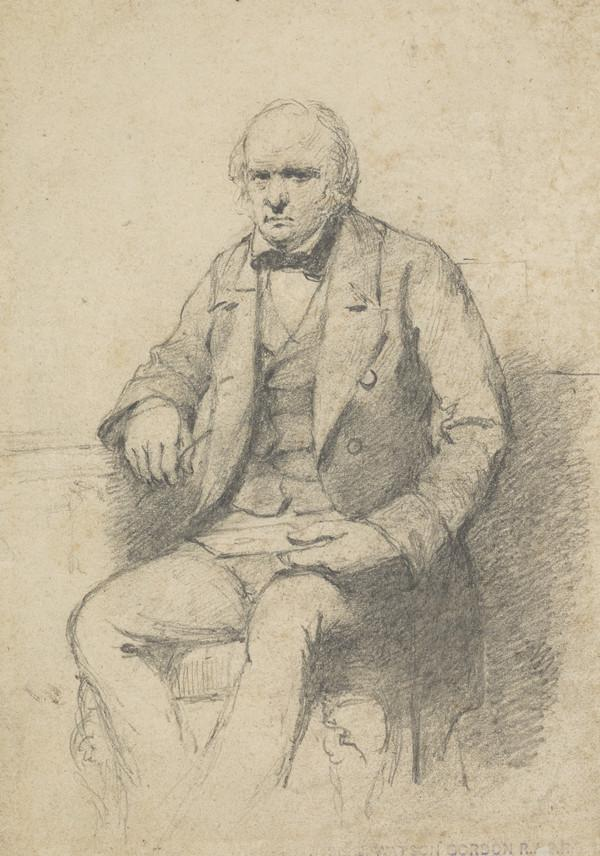 Dr John Brown, 1810 - 1882. Physician and author of Rab and his Friends (Possibly Dr John Brown)