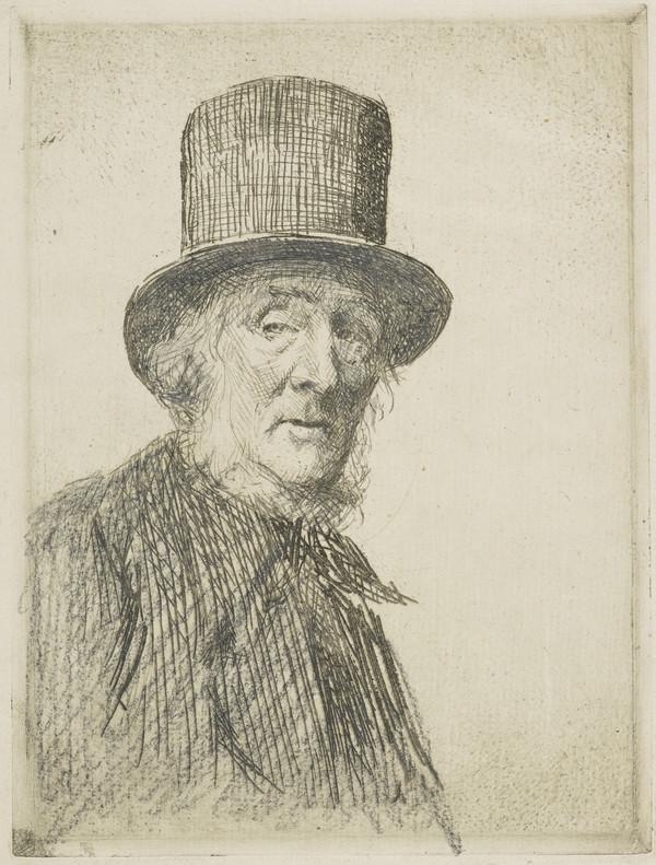 Old Man in a Top Hat (the same man as 'The Elder')