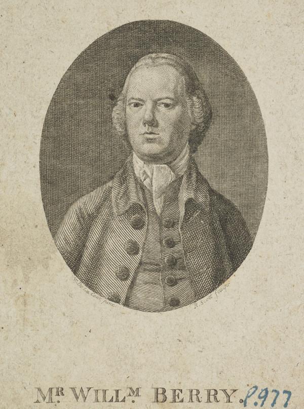 William Berry, 1730 - 1783. Seal engraver