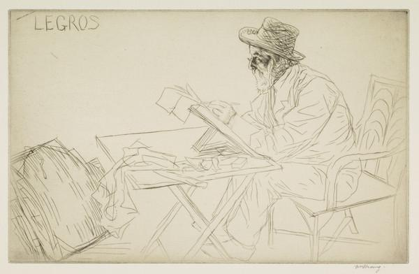 Alphonse Legros, No. 2 (Strang No. 703) (1913)