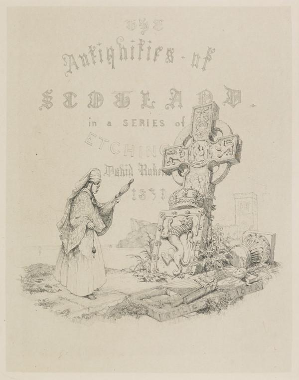 Title-Page to 'The Antiquities of Scotland' (Published 1831)