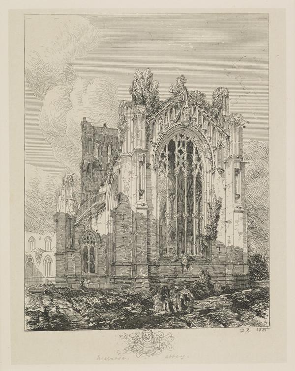 Melrose Abbey (Published 1831)