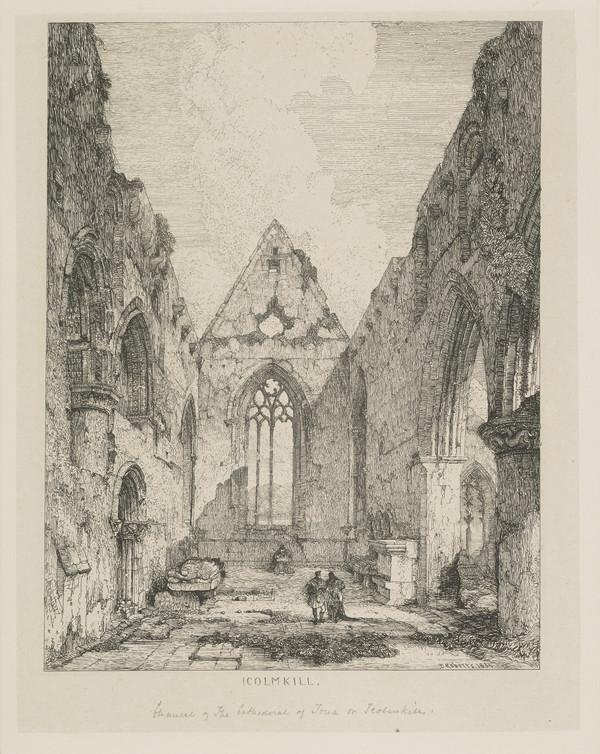 Icolmkill, Iona (Published 1831)