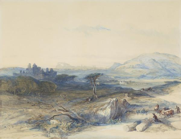 Craigmillar Castle, Edinburgh (Dated 1846)