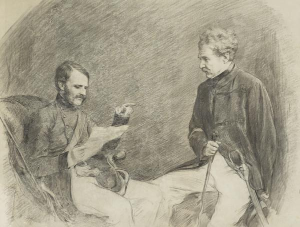 Colin Campbell, 1st Baron Clyde, 1792 - 1863. Field-Marshal (With William Mansfield, 1st Baron Sandhurst, 1819 - 1876. Soldier)