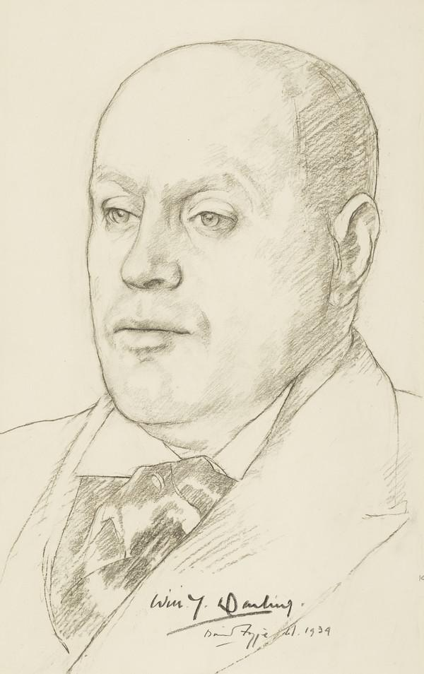 Sir William Young Darling, 1885 - 1962. Businessman and author; Lord Provost of Edinburgh (1939)