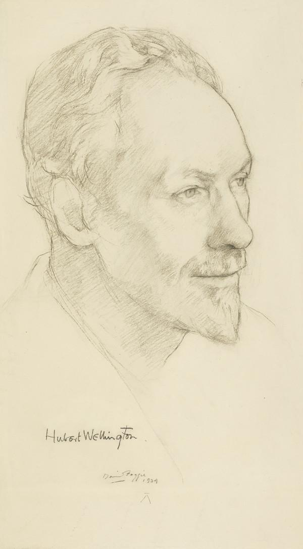 Hubert Wellington, 1879 - 1967. Principal of Edinburgh College of Art (1934)