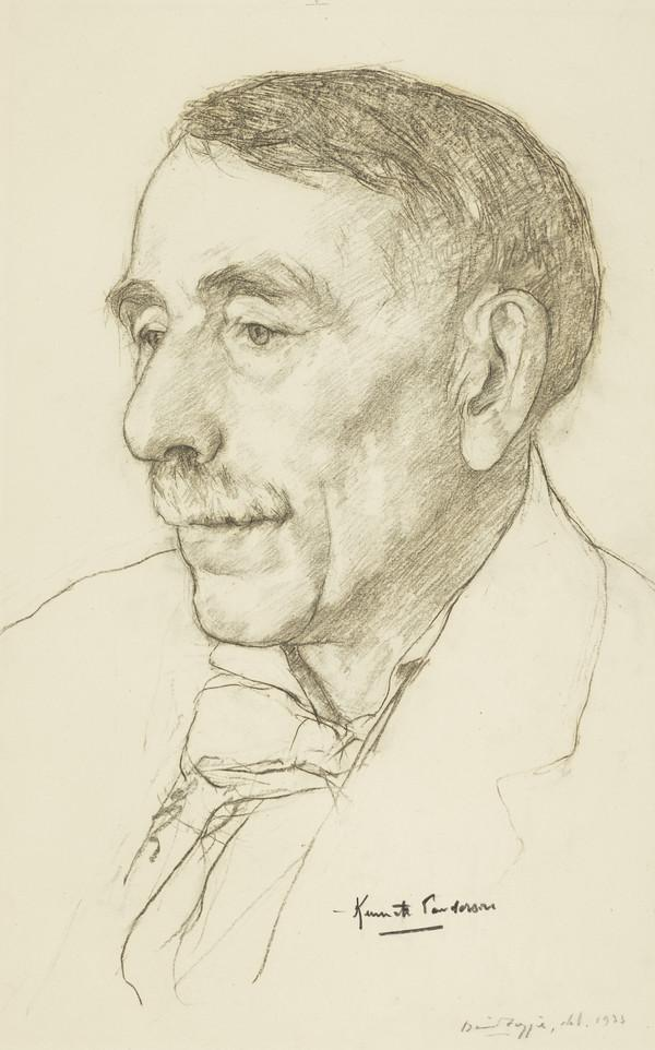 Kenneth Sanderson, 1868 - 1943. Connoisseur and collector; trustee of the National Galleries of Scotland
