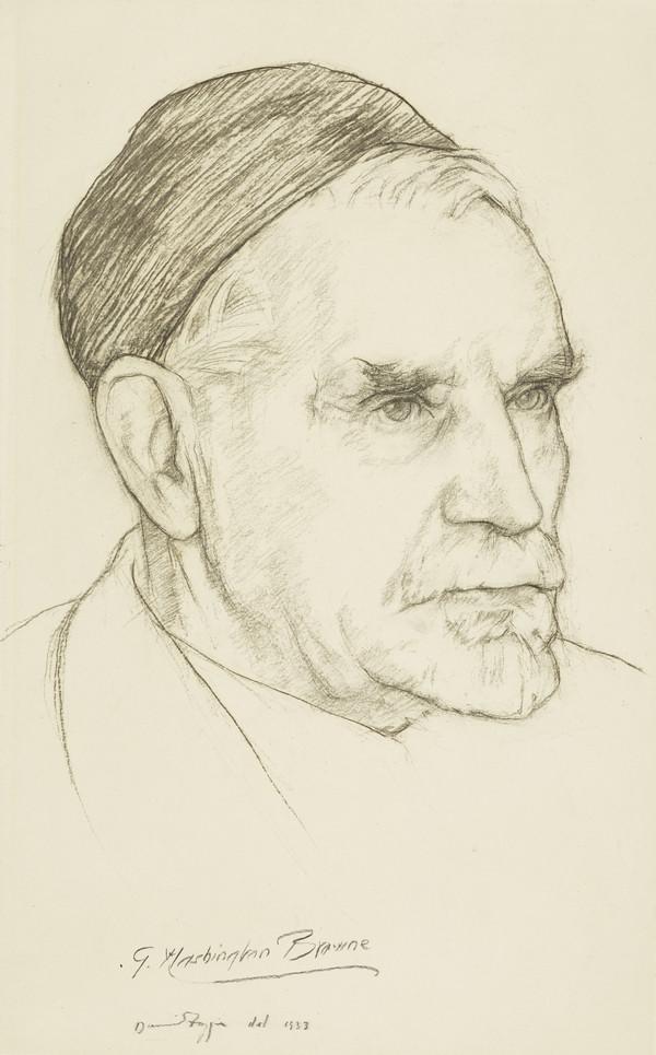Sir George Washington Browne, 1853 - 1939. Architect (1933)