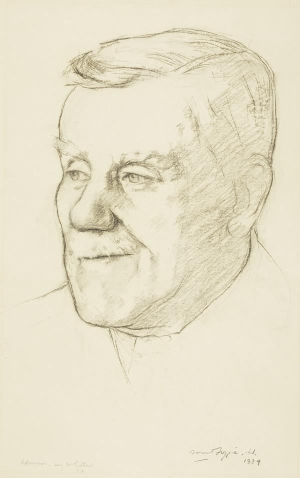 William Adamson, 1863 - 1936. Labour Parliamentarian (1934)