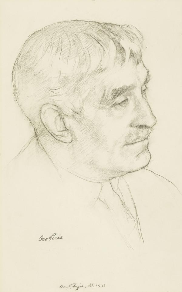 Sir George Pirie, 1863 - 1946. President of the Royal Scottish Academy (1933)
