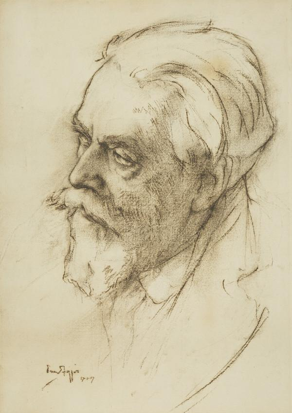 James Pittendrigh MacGillivray, 1856 - 1939. Sculptor (Dated 1917)