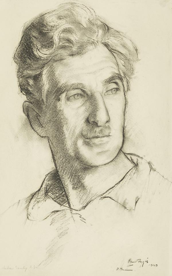 Andrew Gamley, 1869 - 1949. Artist (1929)