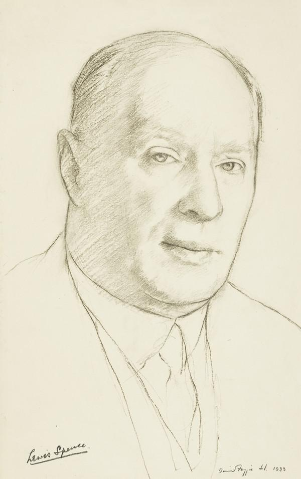 Lewis Spence, 1874 - 1954. Poet and scholar (1933)