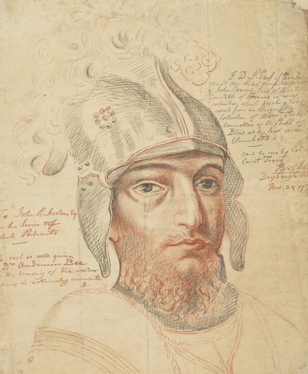 John Stewart, Earl of Buchan, c 1380 - 1424. Chamberlain of Scotland; Constable of France
