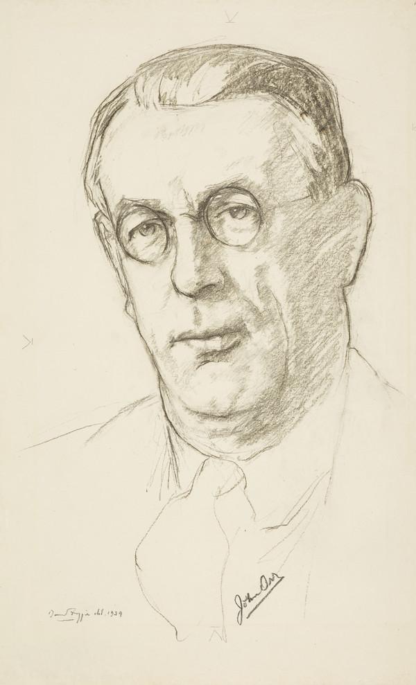 Professor John Orr, 1885 - 1966. French scholar (1939)