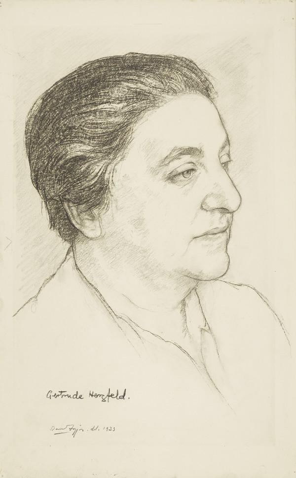 Gertrude Herzfeld, 1890 - 1981. Surgeon (1933)