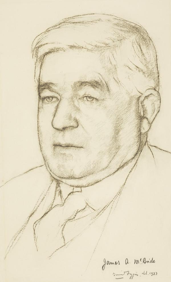 James A. McBride, fl. 1933. Chairman of the Scottish Arts Benevolent Fund (1933)