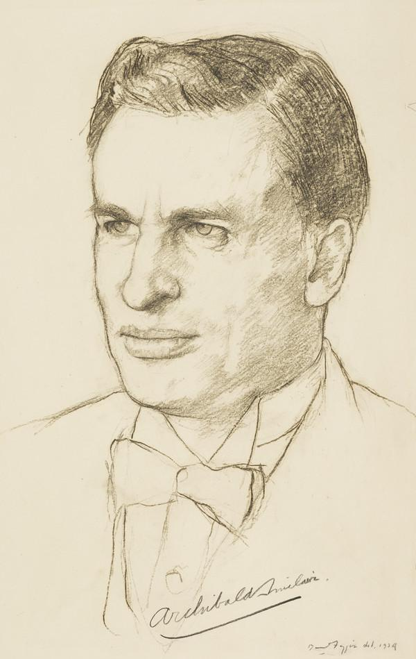 Archibald Henry Macdonald Sinclair, 1st Baronet of Ulbster and 1st Viscount Thurso, 1890 - 1970. Liberal statesman, Secretary of State for... (1939)