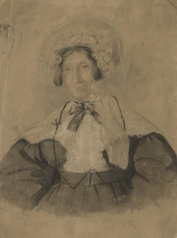 Portrait of an Old Lady (Dated 1839)