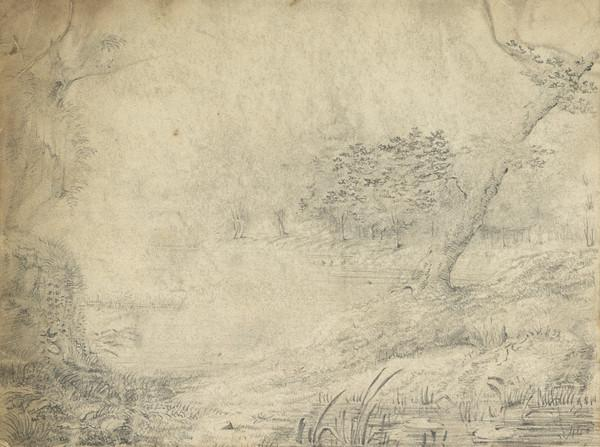 Sketch of a River Landscape