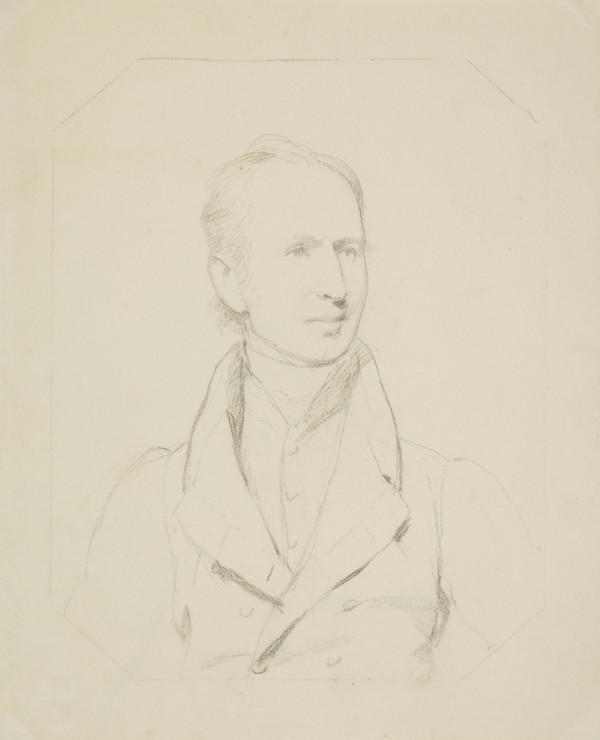 An Unknown Gentleman (sheet 1 on recto ) Two sketches of same sitter (on verso) (1807 - 1835)
