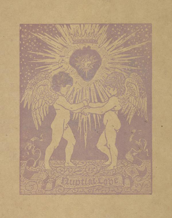 Nuptial Love (with the cover of 'The Elf' on the verso)