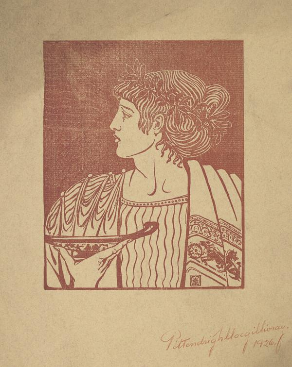 Figure from a Greek Vase (9th April 1905)