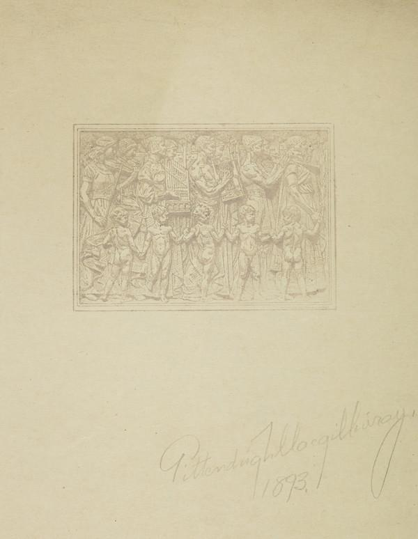 Design for a Relief Panel (1893)